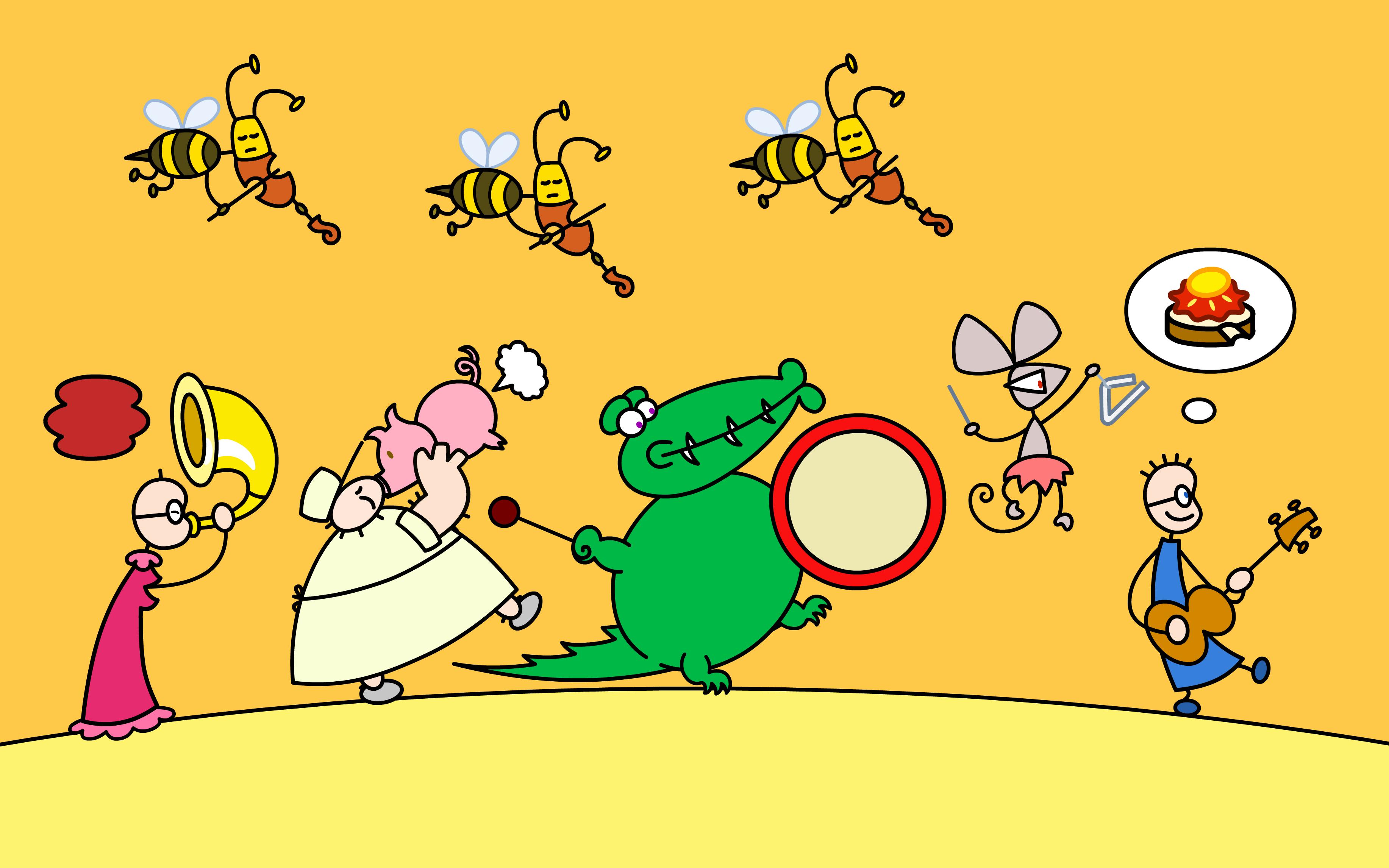 tom und das erdbeermarmeladebrot mit honig spiele